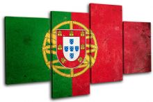 Abstract Portuguese Maps Flags - 13-1570(00B)-MP04-LO